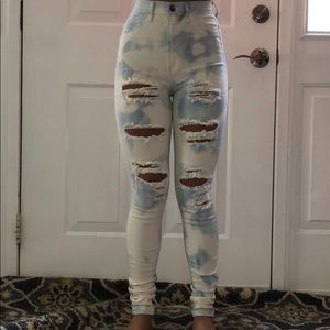 Fashion Nova Jeans - Fashion nova distressed jeans